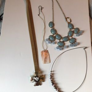 Lot of costume necklaces